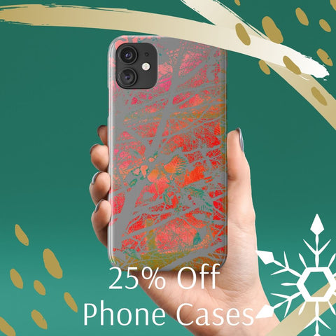 25% off Phone cases
