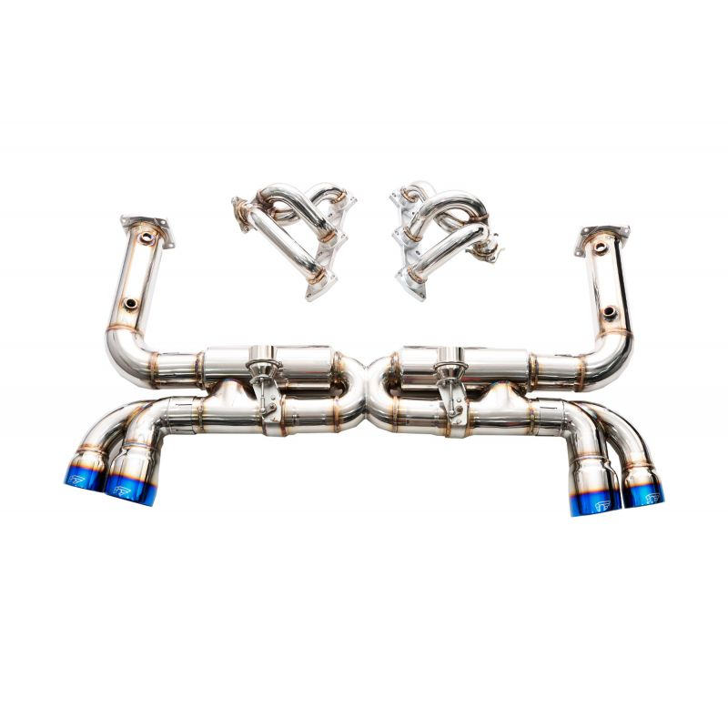 PORSCHE 911 996 TURBO FULL STAINLESS STEEL VALVED EXHAUST