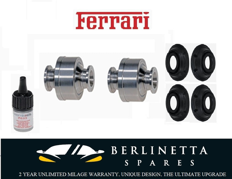 Ferrari 360 430 599 612 2X Upper Ball Joint KIT (Including Glue) Ferrari