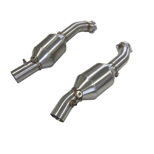 FERRARI 360 HIGH FLOW 200 CELL SPORTS CATALYTIC CONVERTERS (X2)