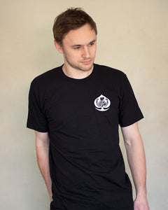 Ace of Cafes Embroidered Tee - Black