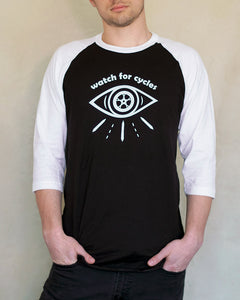 Watch for Cycles Baseball Tee