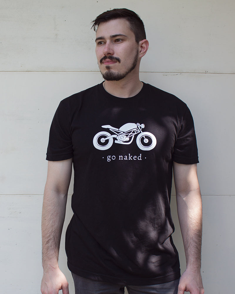 Go Naked Motorcycle Tee
