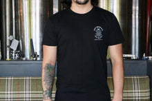 Load image into Gallery viewer, Men's Tee - Black - Helmsman Logo