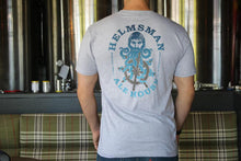 Load image into Gallery viewer, Men's Tee - Heather Grey - Helmsman Logo