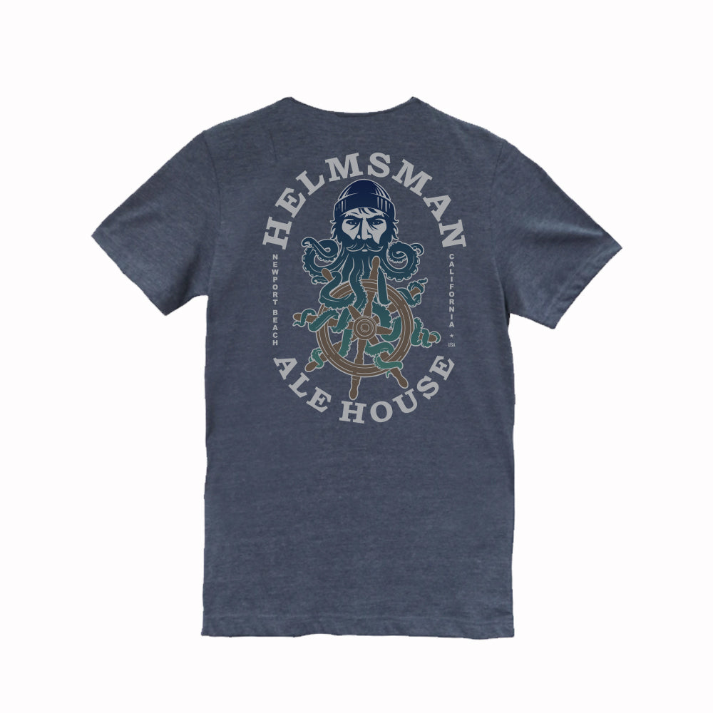Men's Tee - Midnight Heather Blue