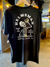 Load image into Gallery viewer, ROARK X HELMSMAN Collab Black Tee