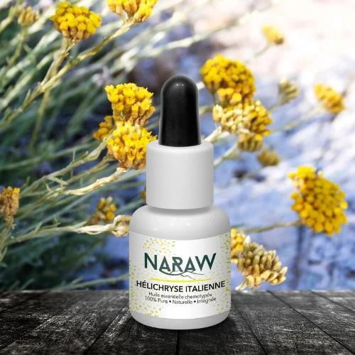 Huile Essentielle d'Hélichryse Italienne - 5mL - NARAW