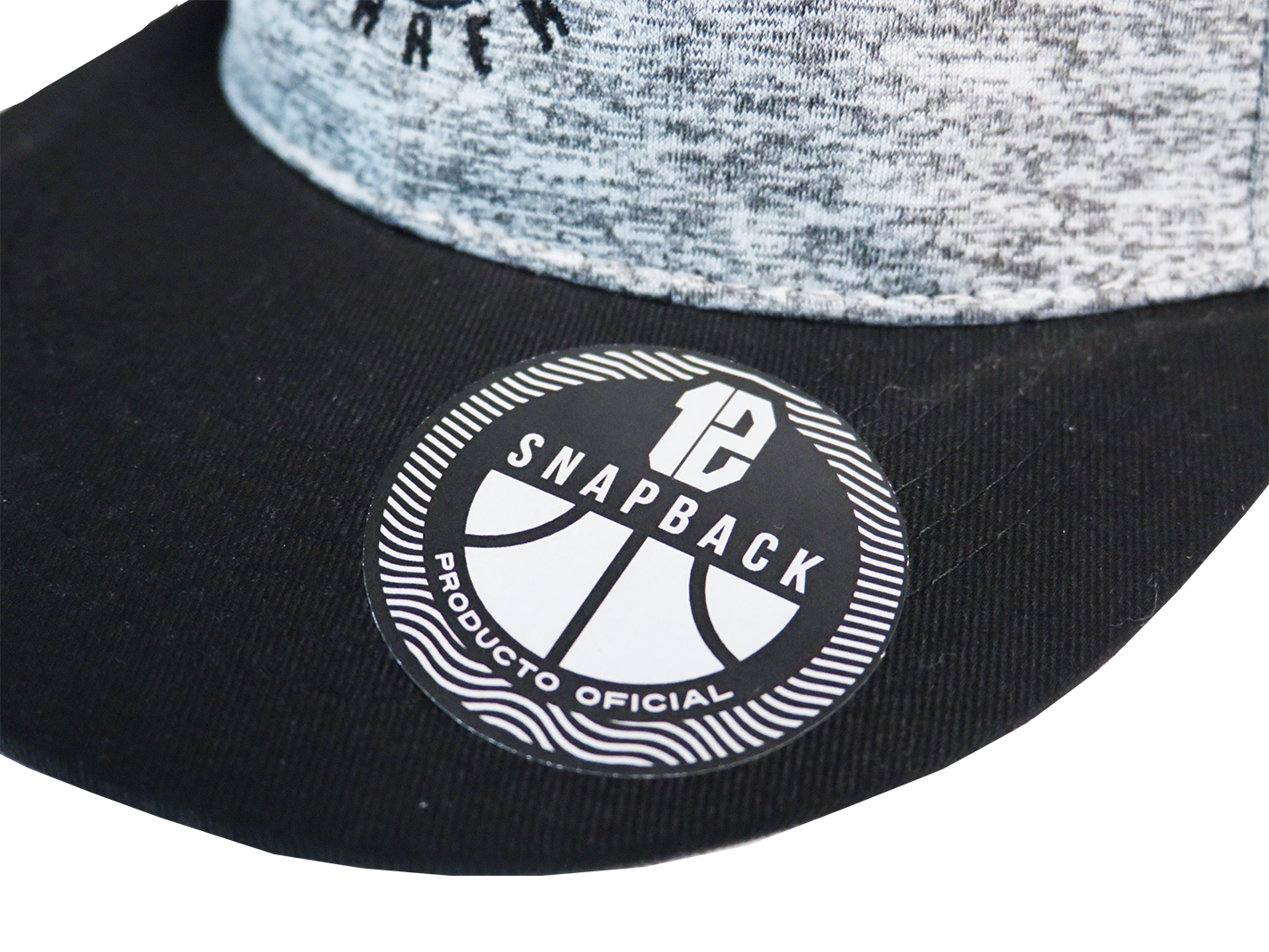 Gorra - 12 Guerreros Tweed Gray