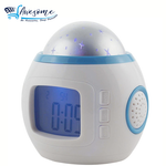 Light Star Sky with Digital Alarm Clock