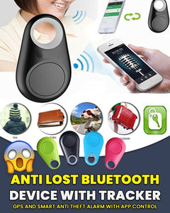 Anti Lost Bluetooth Device with Tracker, GPS and Smart Anti Theft Alarm with App Control