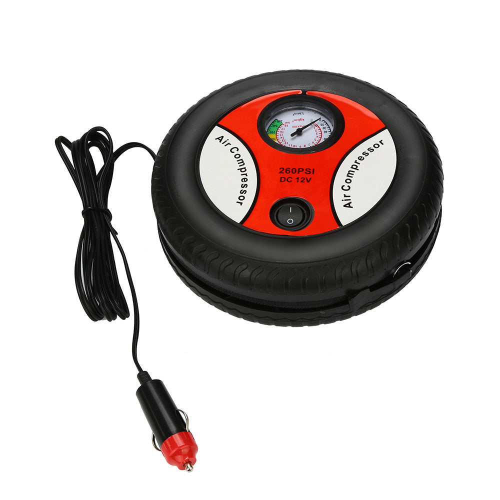Mini Portable Car Air Pump