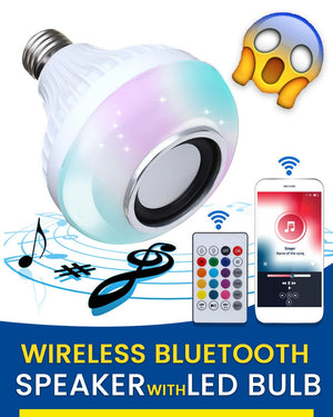 MultiColor Bluetooth Speaker LED Bulb