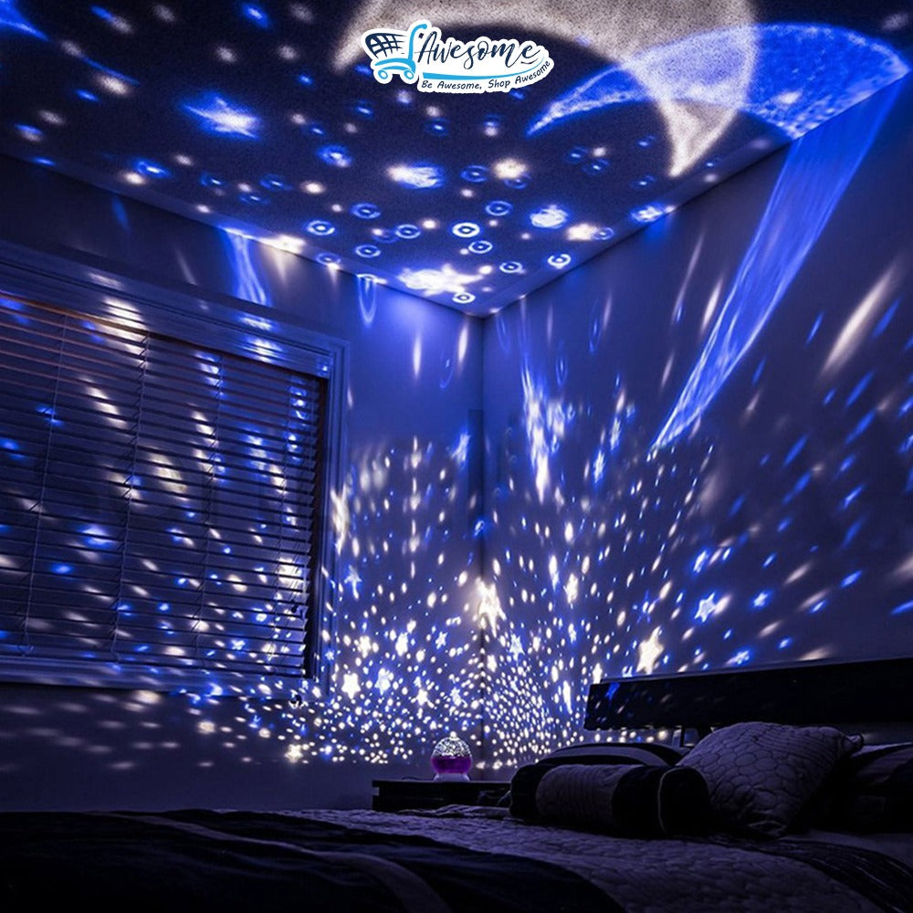 Star Master Night Light Projector