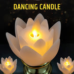 Artificial Flower Shape Lotus Candles Lights