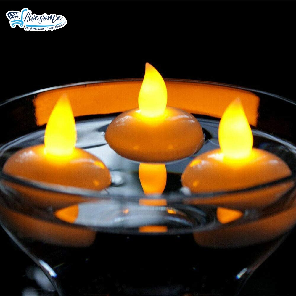 Water Activation LED Candles (Set Of 12)