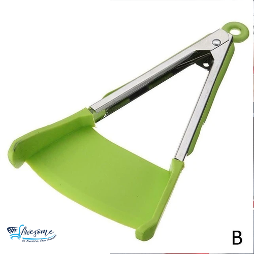 2 in 1 Clever Kitchen Spatula and Tongs