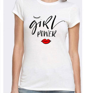 White Printed T-shirt - Mart of Fashion