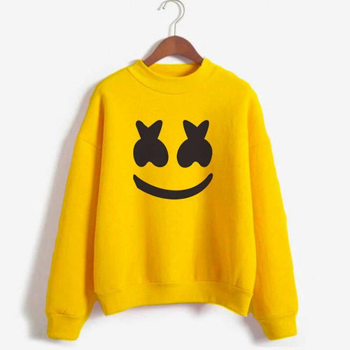 Marshmellow Printed Sweatshirt