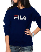 Load image into Gallery viewer, Navy Blue Printed Sweatshirt