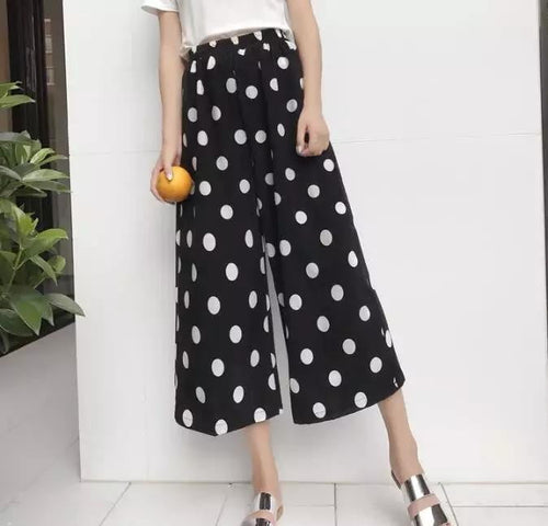Polka Dotted Trouser