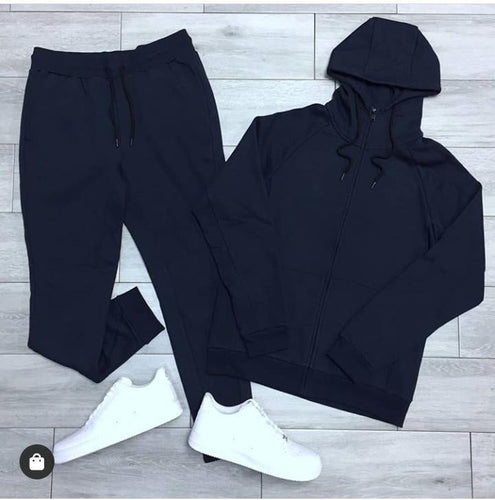 Plain Black Tracksuit