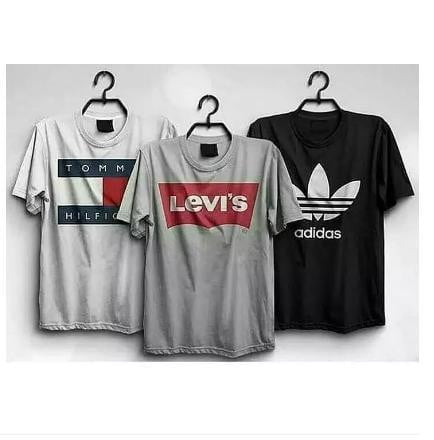 Pack of 3 Printed T-shirt