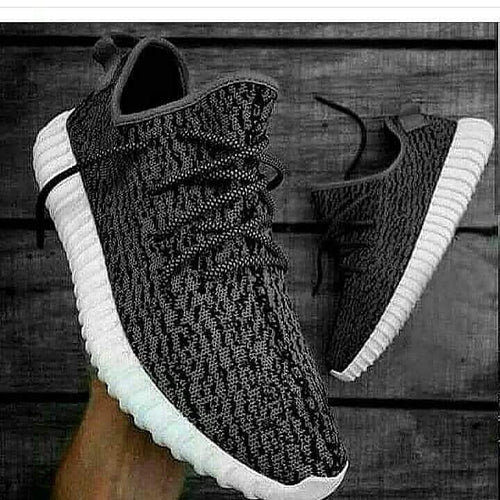 Yeezy Charcoal Sneakers - Mart of Fashion