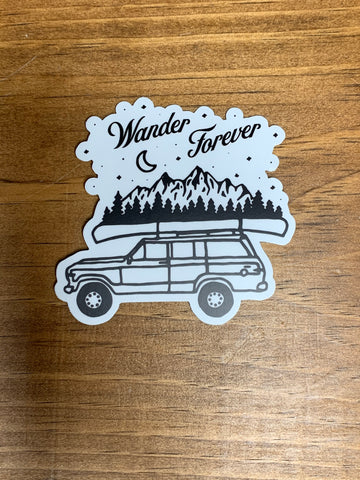 Wander Forever Sticker