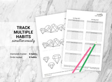 Load image into Gallery viewer, Habit Trackers Bundle of 11 (Set B)