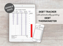 Load image into Gallery viewer, Digital Debt Tracker and Debt Thermometer