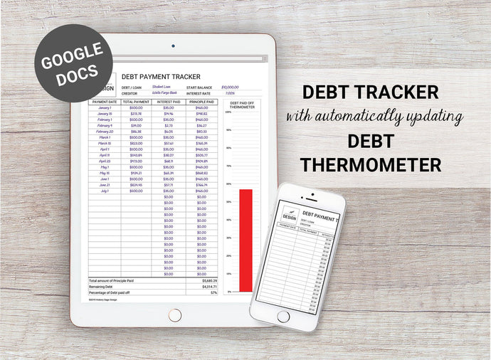 Digital Debt Tracker and Debt Thermometer