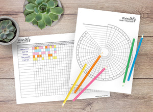 Habit Trackers Bundle of 11 (Set A)