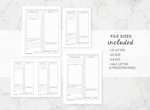 Bundle of Planner Inserts
