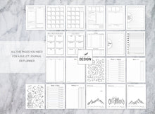 Load image into Gallery viewer, Printable Dotted Journal Kit