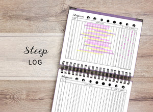Sleep & Insomnia Log