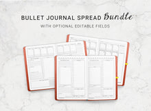 Load image into Gallery viewer, Bundle of Dotted Journal Spreads