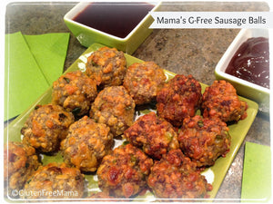 Gluten Free Sausage Balls — Party Appetizer