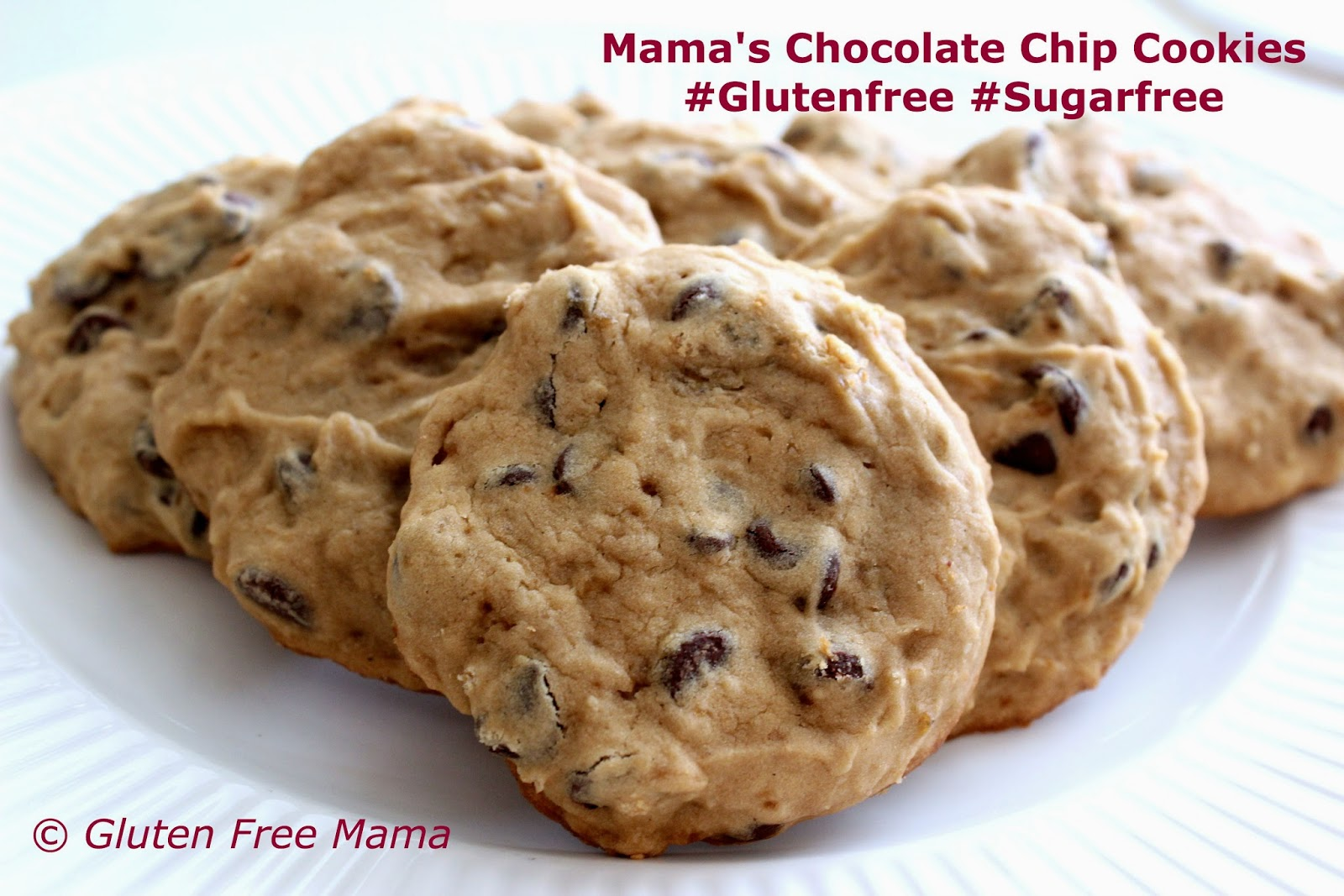 Mama's Gluten Free Chocolate Chip Cookies with Brown Rice Syrup