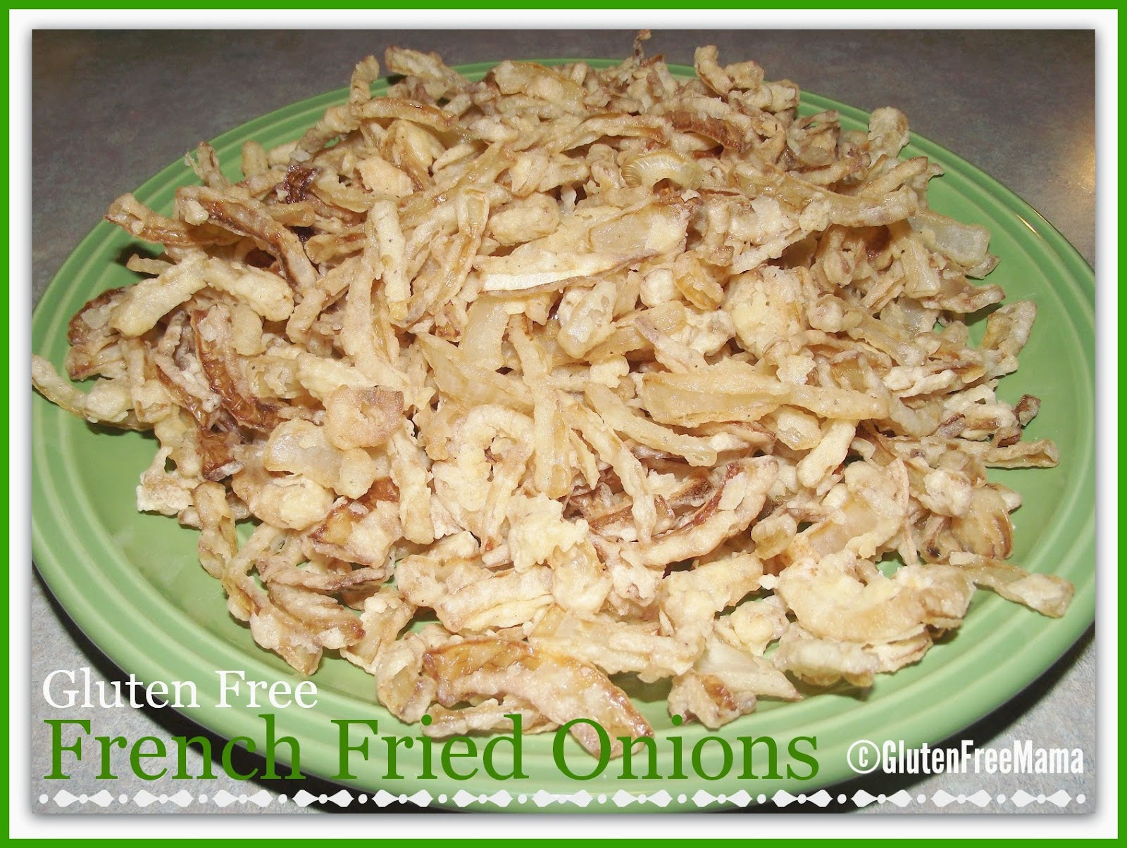 Mama's Gluten Free French Fried Onions