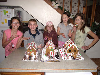 Gluten Free Gingerbread Houses a Holiday Tradition