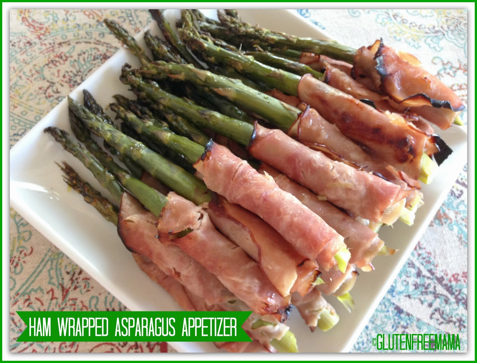 Ham Wrapped Asparagus Appetizer