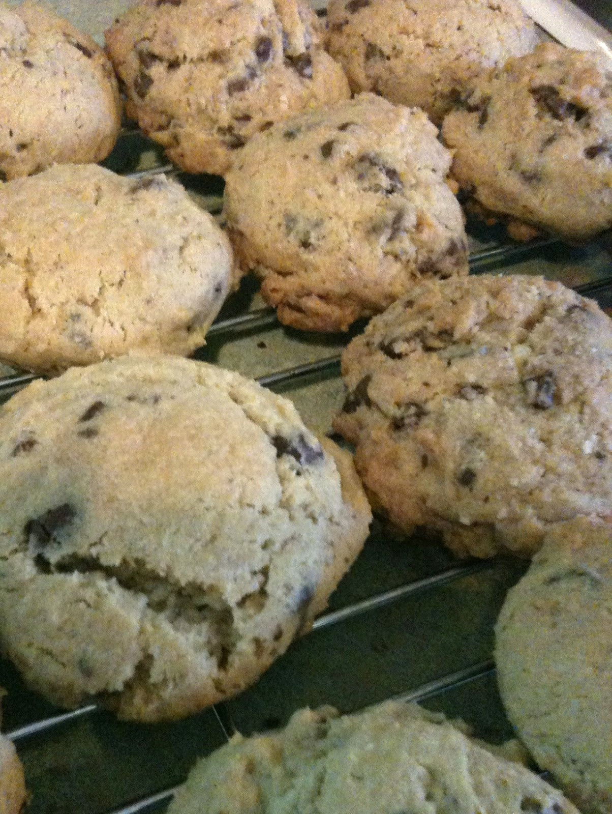 Ultimate Chocolate Chip Cookies Egg Free and Gluten Free