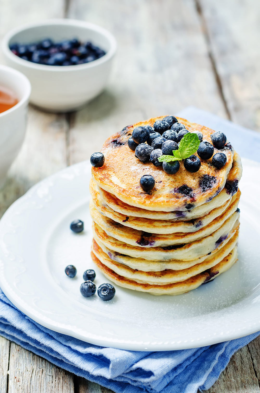 Blueberry Pancake Mix