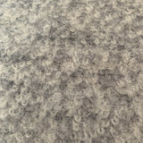 Silver boucle wool blend