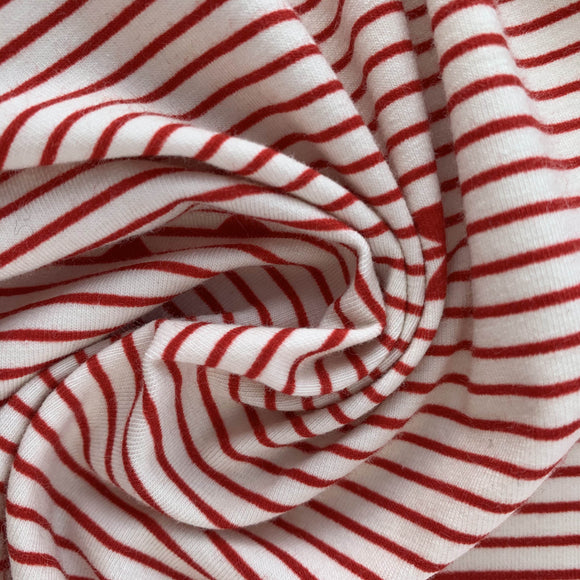 Art Gallery Fabrics Gran Piano Red Jersey