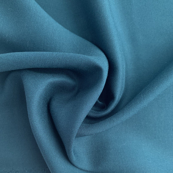 Dashwood Solid Dark Teal Rayon