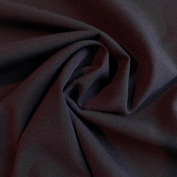 Navy Viscose Blend Suiting