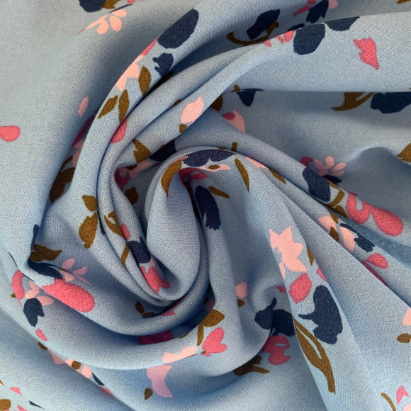 Breezy flowers viscose