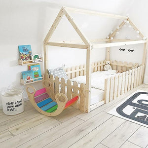 Wooden Rocking Baby Chair